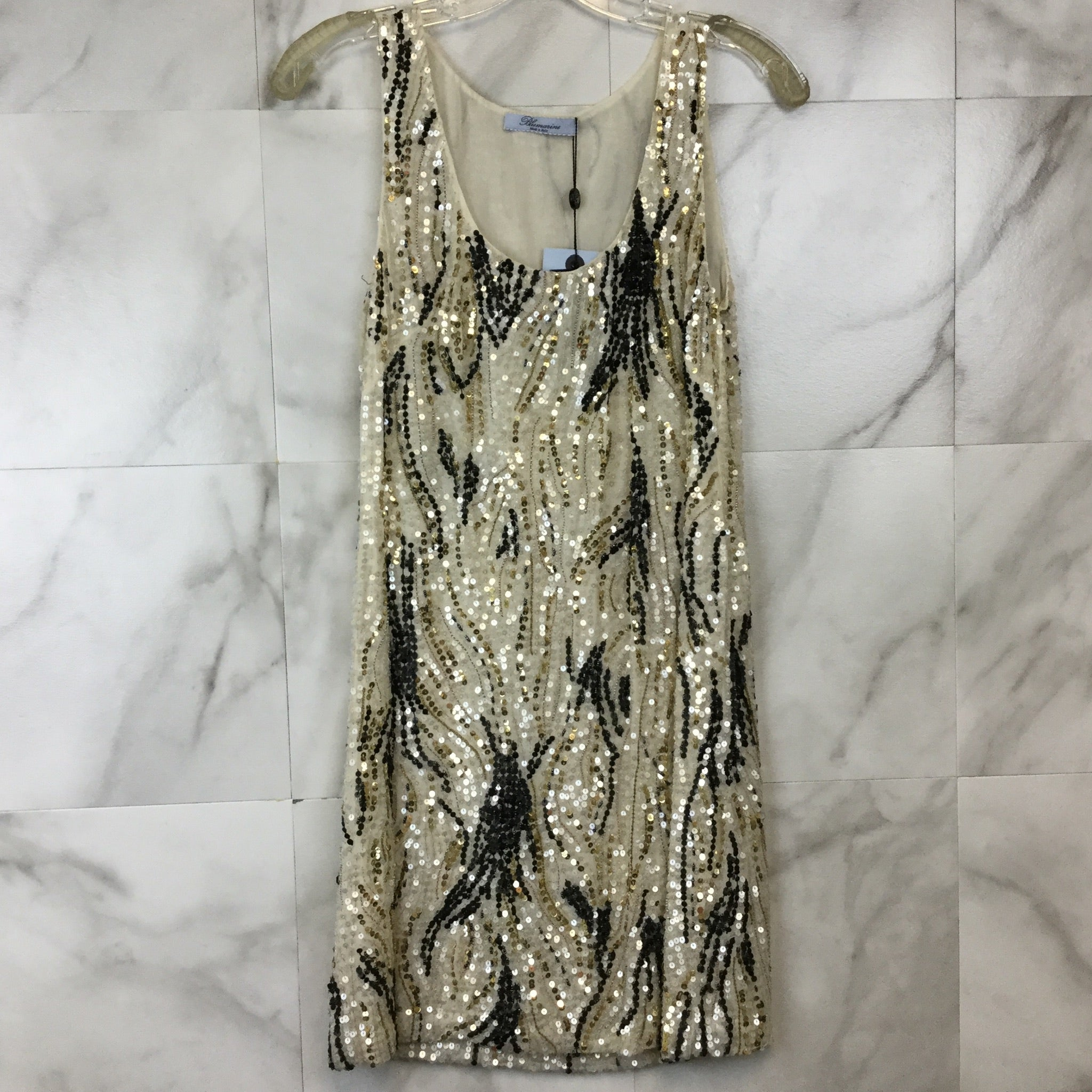 Blumarine Sequin Mini Dress - size 42