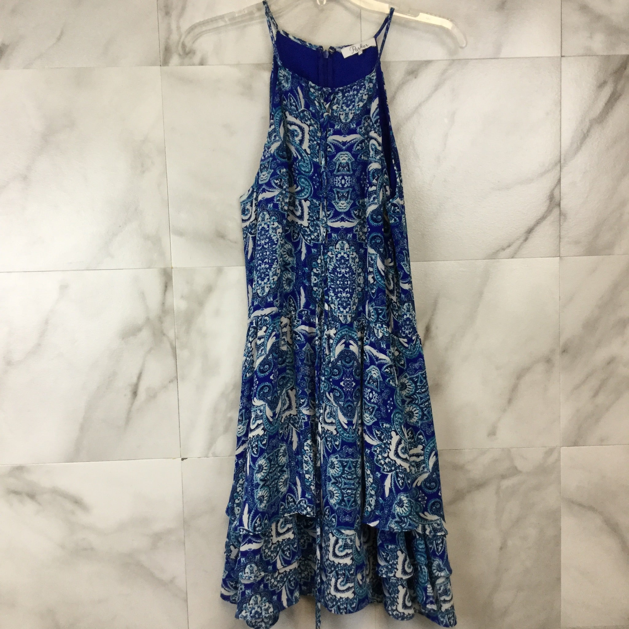 Parker Dax Printed Dress - size L