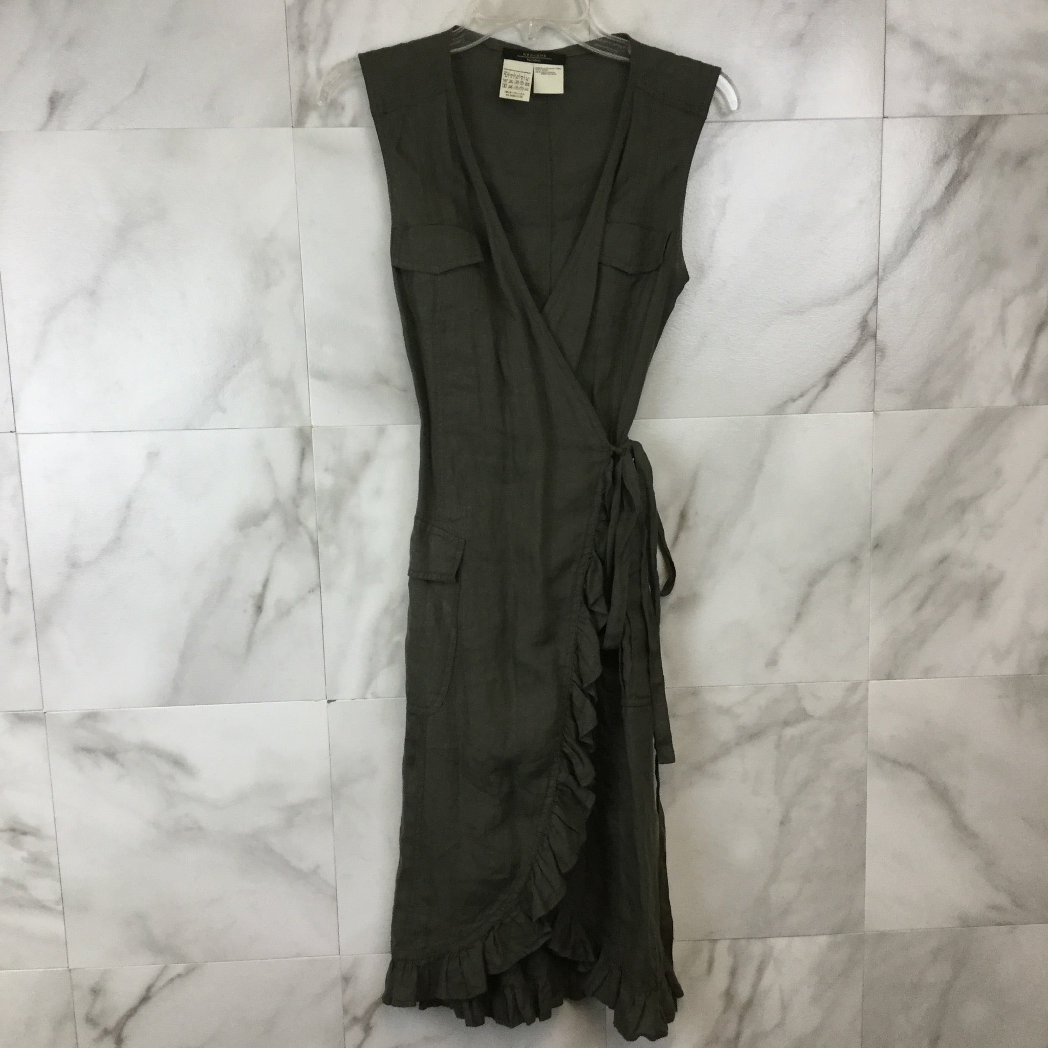Weekend Max Mara Utility Wrap Dress - size 4