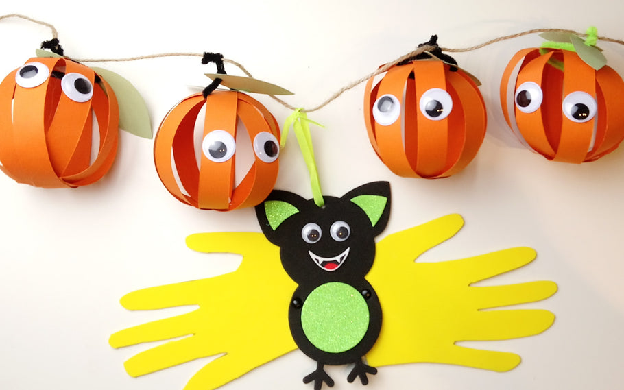 Get Spooky with the kids - Crafty Little Monsters Halloween Craft ideas