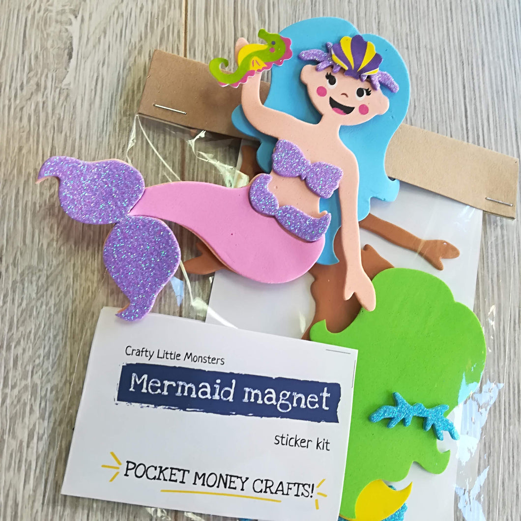 Mermaid Magnet Sticker Kit