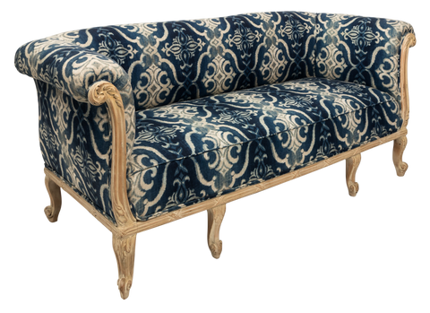 Upholstered French Chesterfield