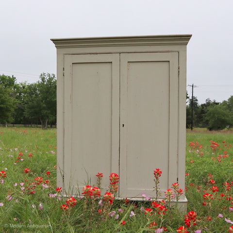 RT Small Painted Cabinet