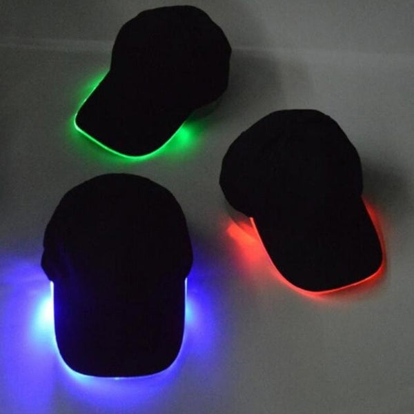 LED Lighting Glow Party Cap - Go Jingle Bells