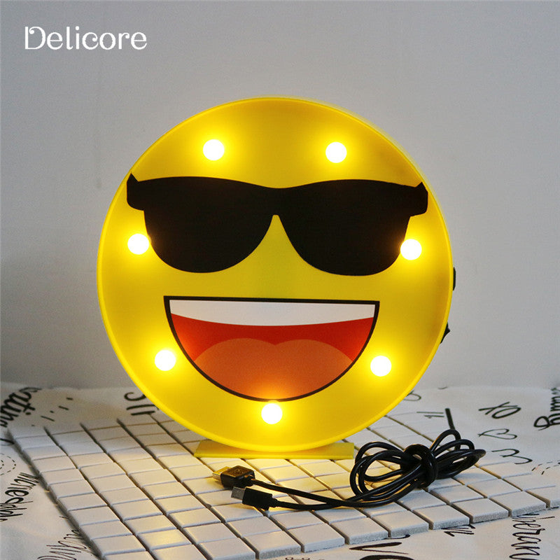 Emoji Night Lamp for your loved one's - A Wonderful Birthday / Christmas Gift - Hot Selling Product - Go Jingle Bells