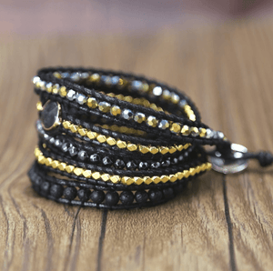 The Ultimate Cleansing 5 Layer Wrap Bracelet