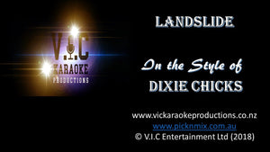 Dixie Chicks - Landslide - Karaoke Bars & Productions Auckland