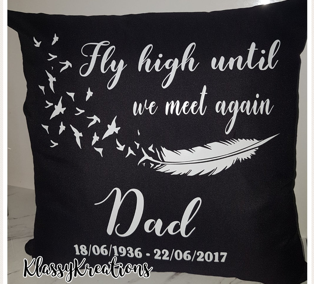 Personalised Memorial Cushion