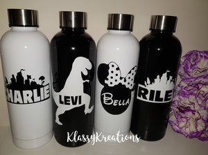 Personalised Drink Bottle 500ml - Any Name