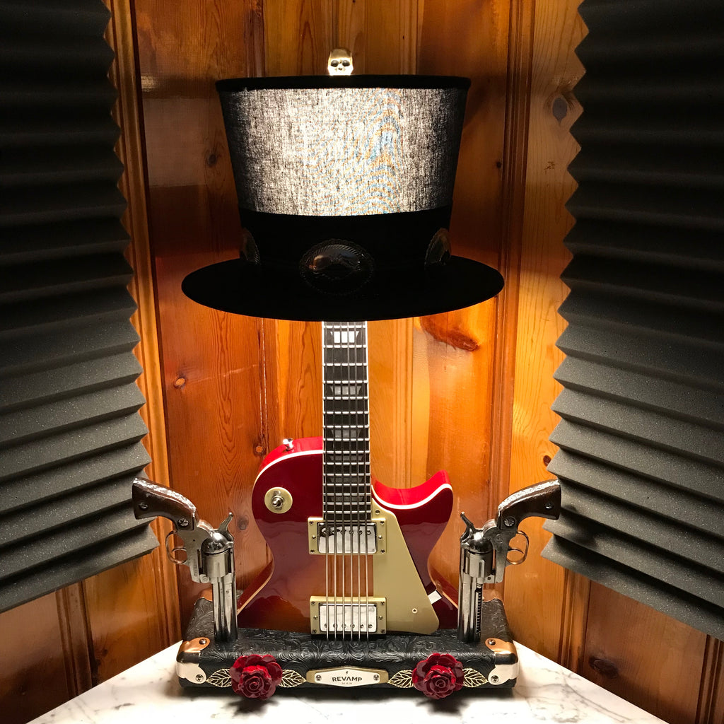Guitar Lamp - The Slasher #049 of Collection