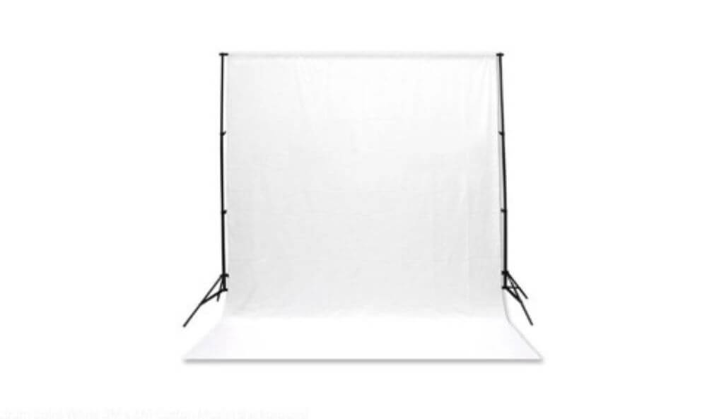 cotton backdrops for video production