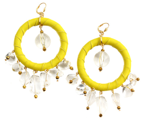 Lolita Hoops - Yellow