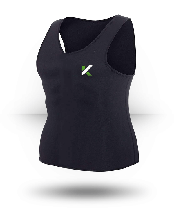 Kewlioo Sauna Vest Black, Medium