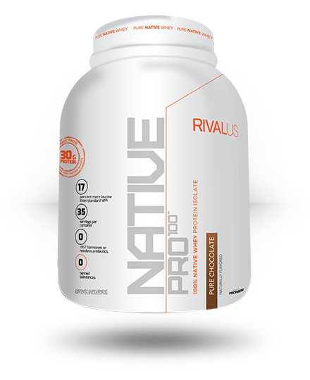 Rivalus Native Pro 100 Pure Chocolate 35 Servings