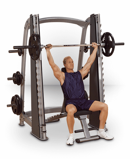 Body-Solid ProClubline Counter Balanced Smith Machine