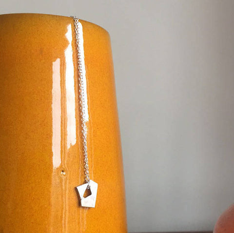 MINI FRAGMENT Sterling Silver Necklace - Atelier32
