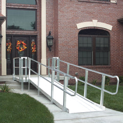 PVI Ramps Modular XP Wheelchair Ramp System - Up to 30' Length