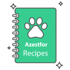 Azestfor Icon recipe book infographic