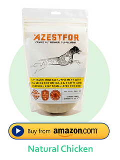 Azestfor Homemade Dog Food Vitamins Chicken flavor buy on amazon