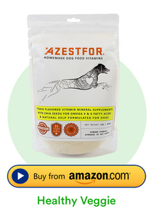 Azestfor Homemade Dog Food Vitamins veggie flavor buy on amazon