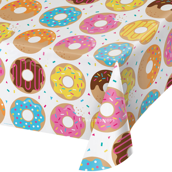 DONUT TIME PLASTIC COVER