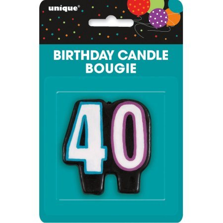 Number Candle 40 - Pack Of 1