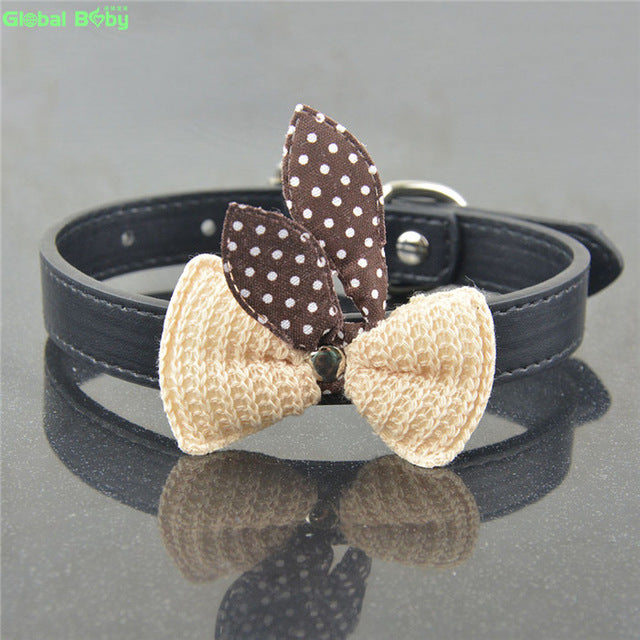 Cute Bow Tie Cat Collar
