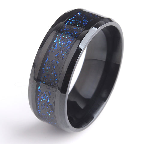 Blue Steele Ring