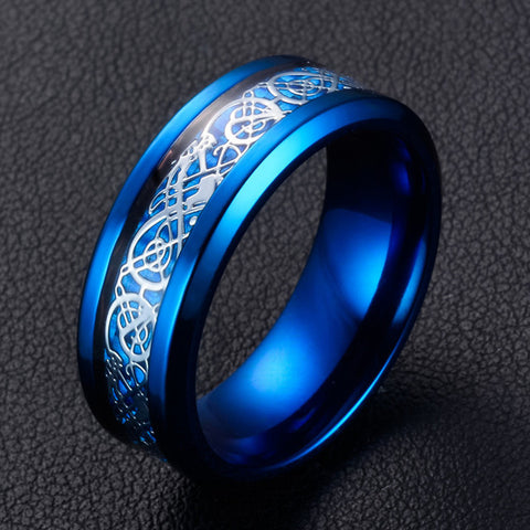 Blue Carbon Ring