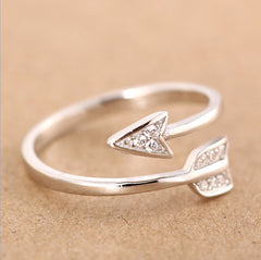Arrow Courage Ring
