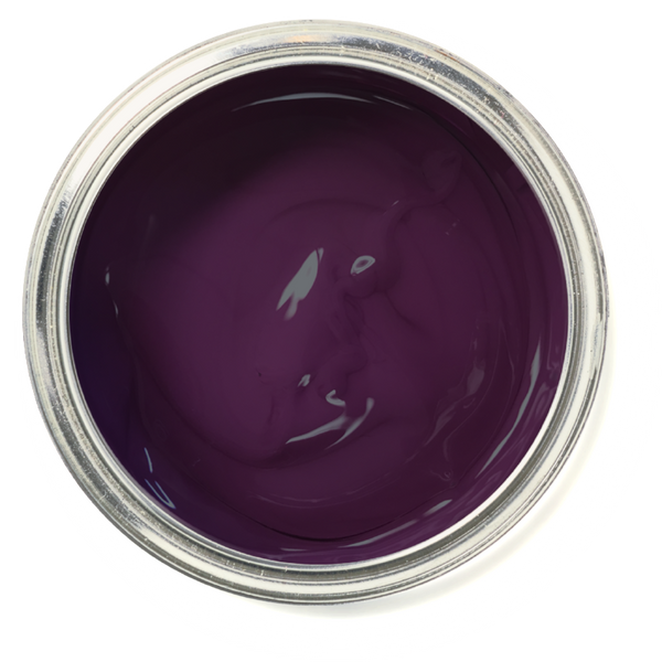 Aubergine - Deep purple furniture paint. DIY chalk paint. No prep furniture paint.
