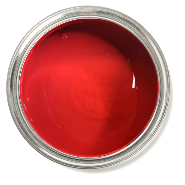Cerise - Cherry Red chalk paint. Red furniture paint. Cherry red furniture paint.