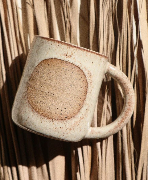 Ceramic Moon Mug by Easy to Breathe