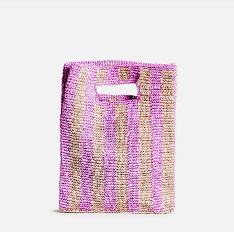 Provence Bag in Lilac Stripe by Someware Goods