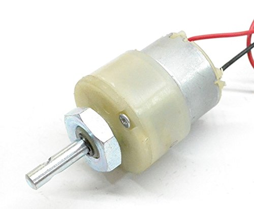 DC Gear Motor 500 RPM - Bageera - The Resource Hub