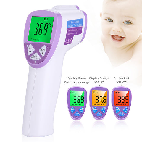 Digital infrared thermometer for kids pets and house objects CE&FDA approved - Magic Beans Ink