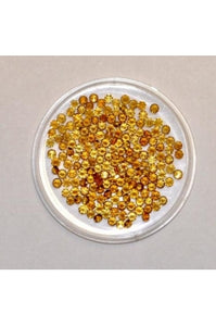 Citrine Round Shape Stone 2.5mm (Sold per 1 single stone; color and size may vary)