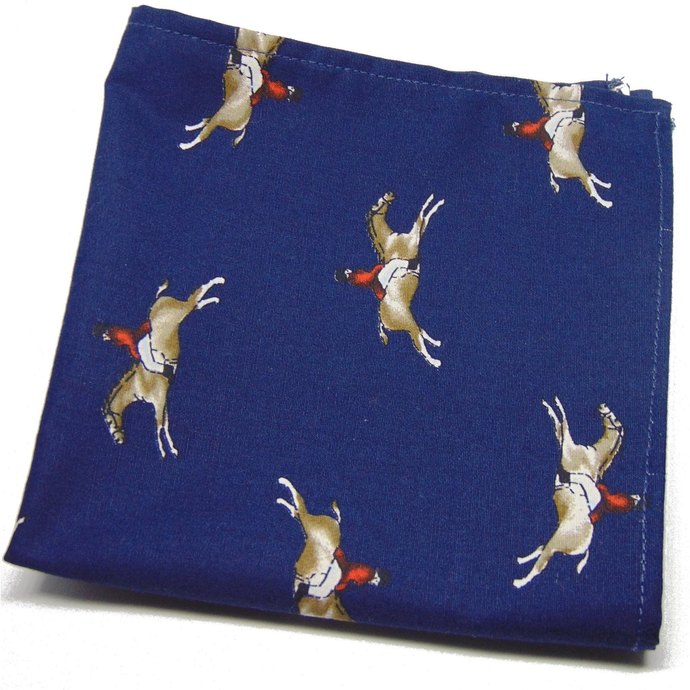 Epsom Derby Horse Racing Pocket Square-pocket square-Society Gent