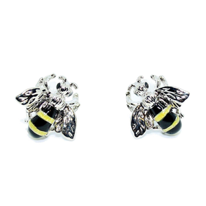 Colourful Bumblebee Cufflinks-cufflinks-Society Gent