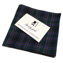 Irving Green, Blue and Yellow Gingham Pocket Square-pocket square-Society Gent