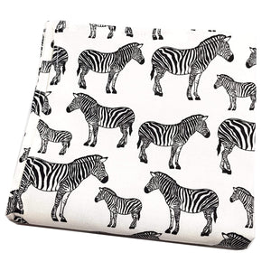 Zebra Pocket Square-pocket square-Society Gent
