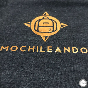 Mochileando This is LOVE Travel tshirt by Around Eco, soft tshirt, travel outfit, fairtrade clothing, aroundeco tshirt