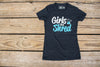 Girls that Shred Tee  - Charcoal