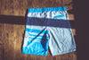 Lowtide Boardshort - Heather Grey/Blue