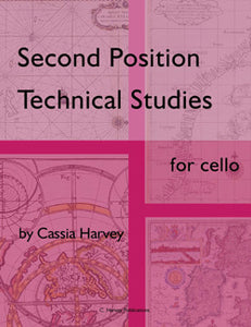 Second Position Technical Studies for Cello - PDF Download