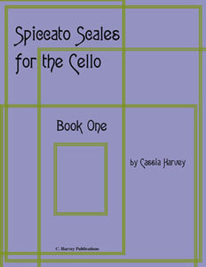 Spiccato Scales for the Cello, Book One- PDF Download
