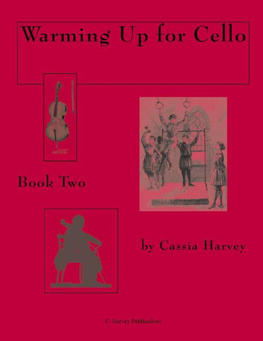 Warming Up for Cello, Book Two: a string class method that can also be played in private study.