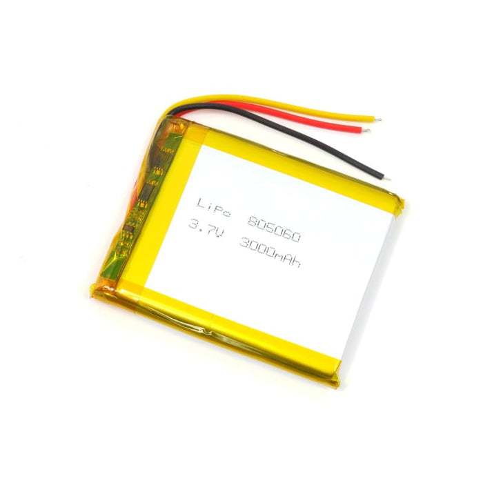 Lithium Polymer Battery - 3000mAh - Batteries
