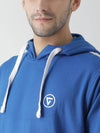 Griffel Men's Stylish Hooded Neck Royal Fleece Sweatshirt