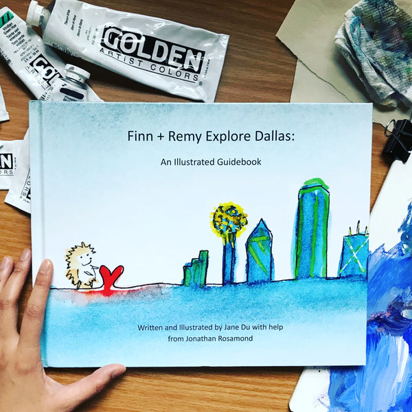 Finn + Remy Explore Dallas (Hardback)